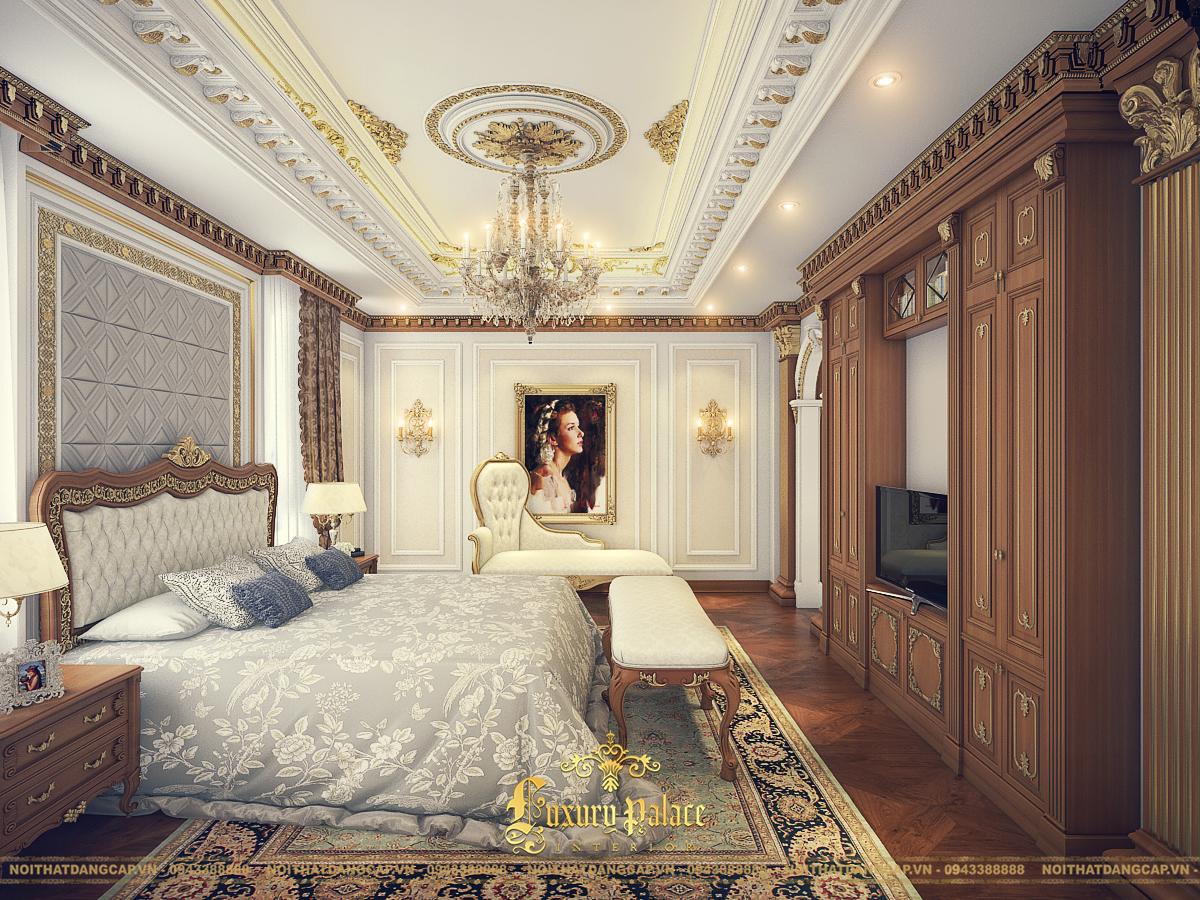 Mẫu thiết kế phòng ngủ phong cách tân cổ điển châu Âu 17