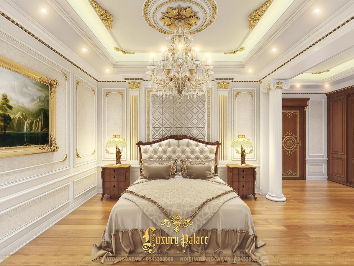 Mẫu thiết kế phòng ngủ phong cách tân cổ điển châu Âu 18