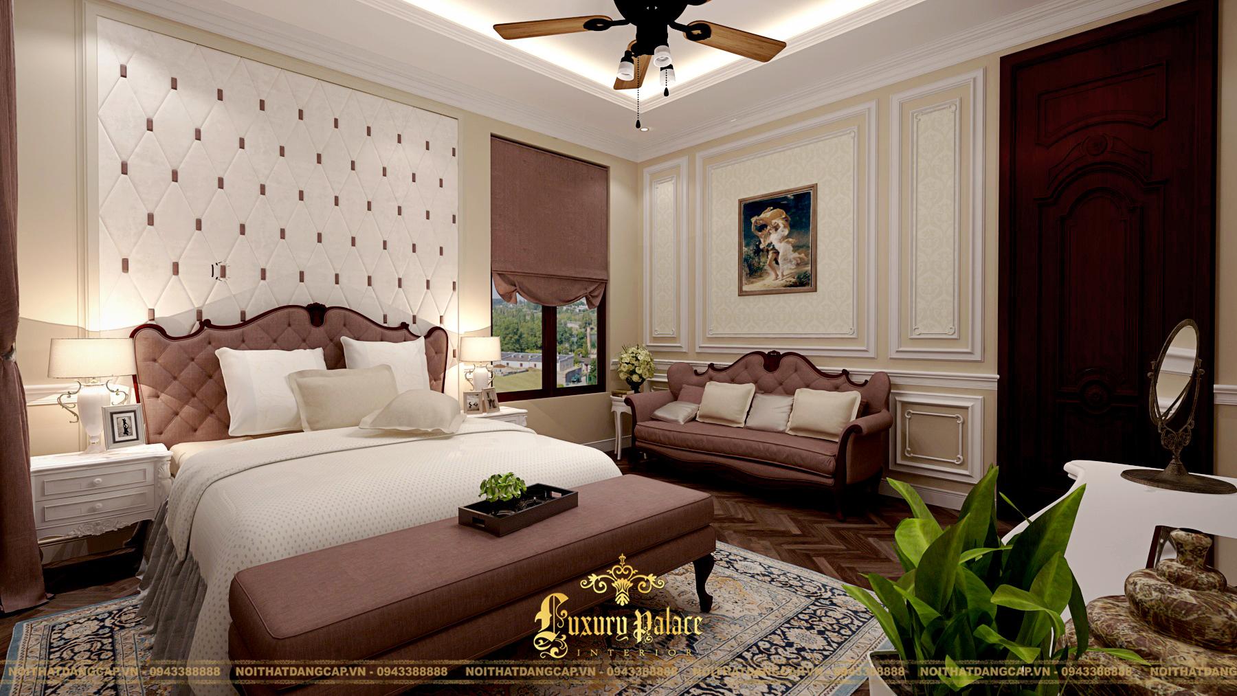 Mẫu thiết kế phòng ngủ phong cách tân cổ điển châu Âu 22