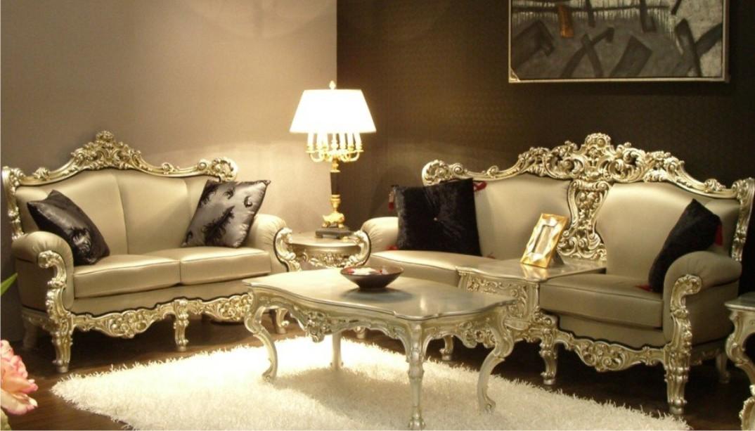 Lựa chọn bàn ghế sofa cổ điên theo phong cách Châu Âu