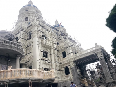 Khởi công thi công lâu đài A/C Hương Phát tại TP - Hải Phòng