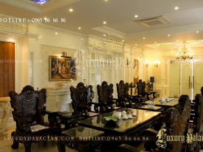 Thi công nội thất Biệt thự Tân cổ điển Khu đô thị Hùng Thắng, Quảng Ninh