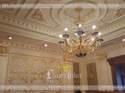 Hoàn thiện thi công nội thất Lâu đài 6 gà vàng (P2)
