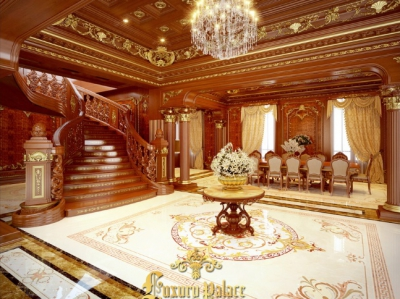 Lâu đài 6 gà vàng đi từ thiết kế đến thi công