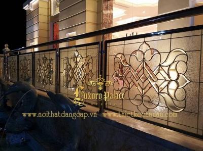 Kính hoa đồng trong những công trình của Luxury Palace