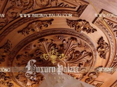 Quy trình thiết kế thi công gỗ cổ diển hàng đầu của Luxury Palace